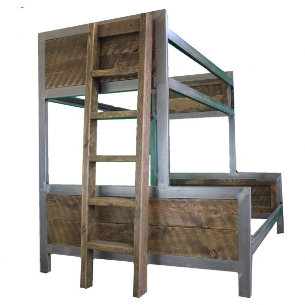Industrial-Metal-And-Wood-Bunk-Bed-4