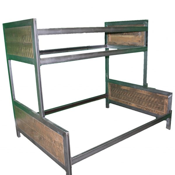 Industrial-Metal-And-Wood-Bunk-Bed-5
