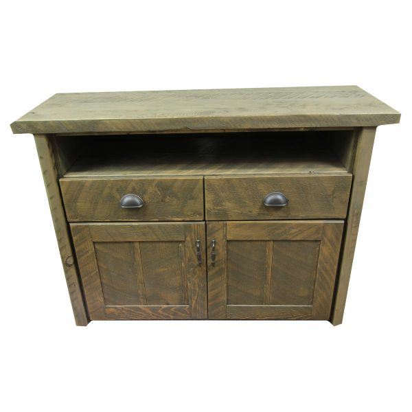 Rustic-TV-Console-With-Drawers-Smoke