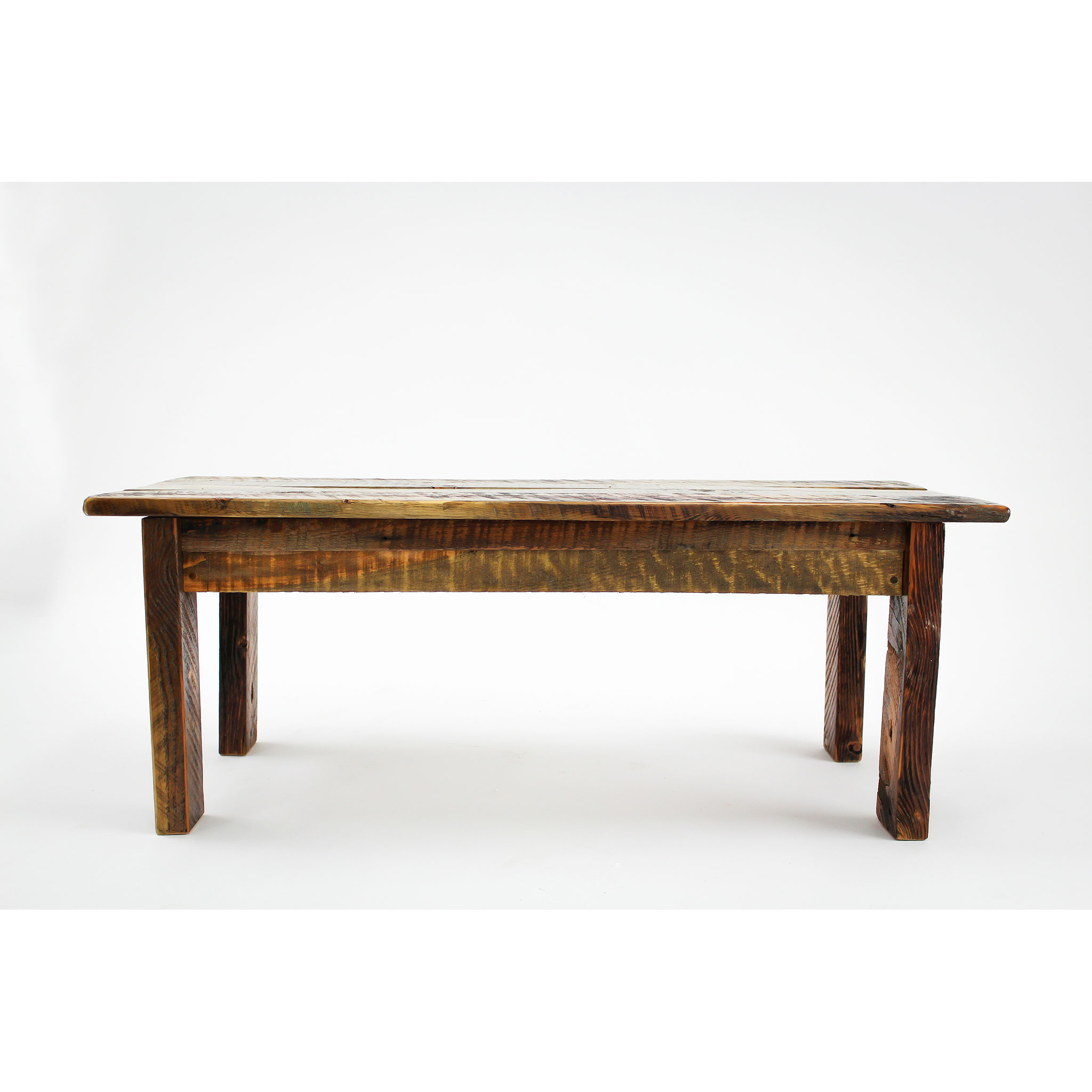 Simple Reclaimed Barnwood Coffee Table Four Corner Furniture