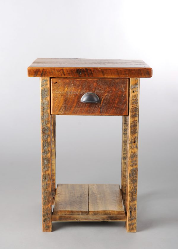1-Drawer-Nightstand.Barnwood.Front_