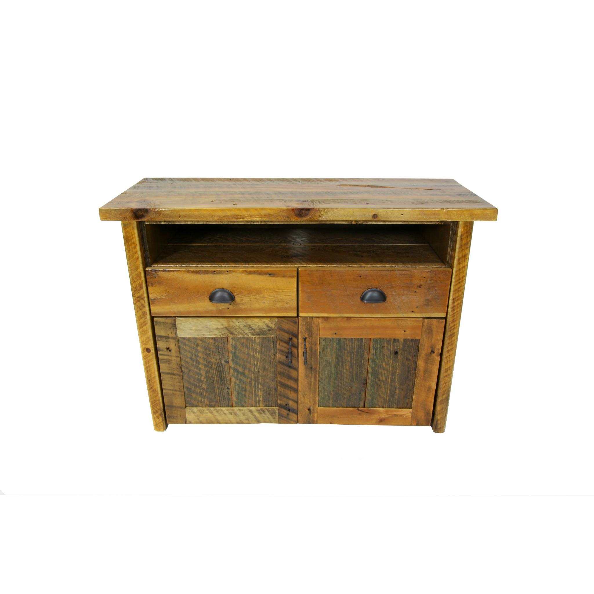 Barn Wood Tv Stand With Drawers Four Corner Furniture Bozeman Mt