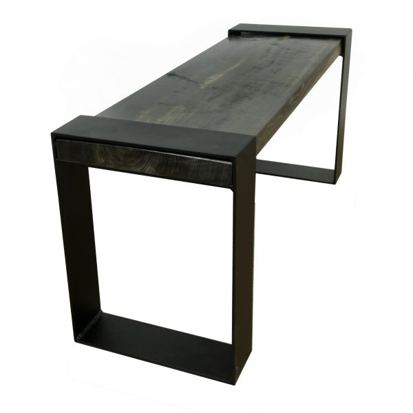 Contemporary-Industrial-Metal-Wood-Bench-2