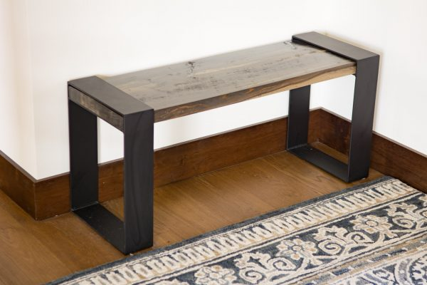 Contemporary-Industrial-Metal-Wood-Bench-3