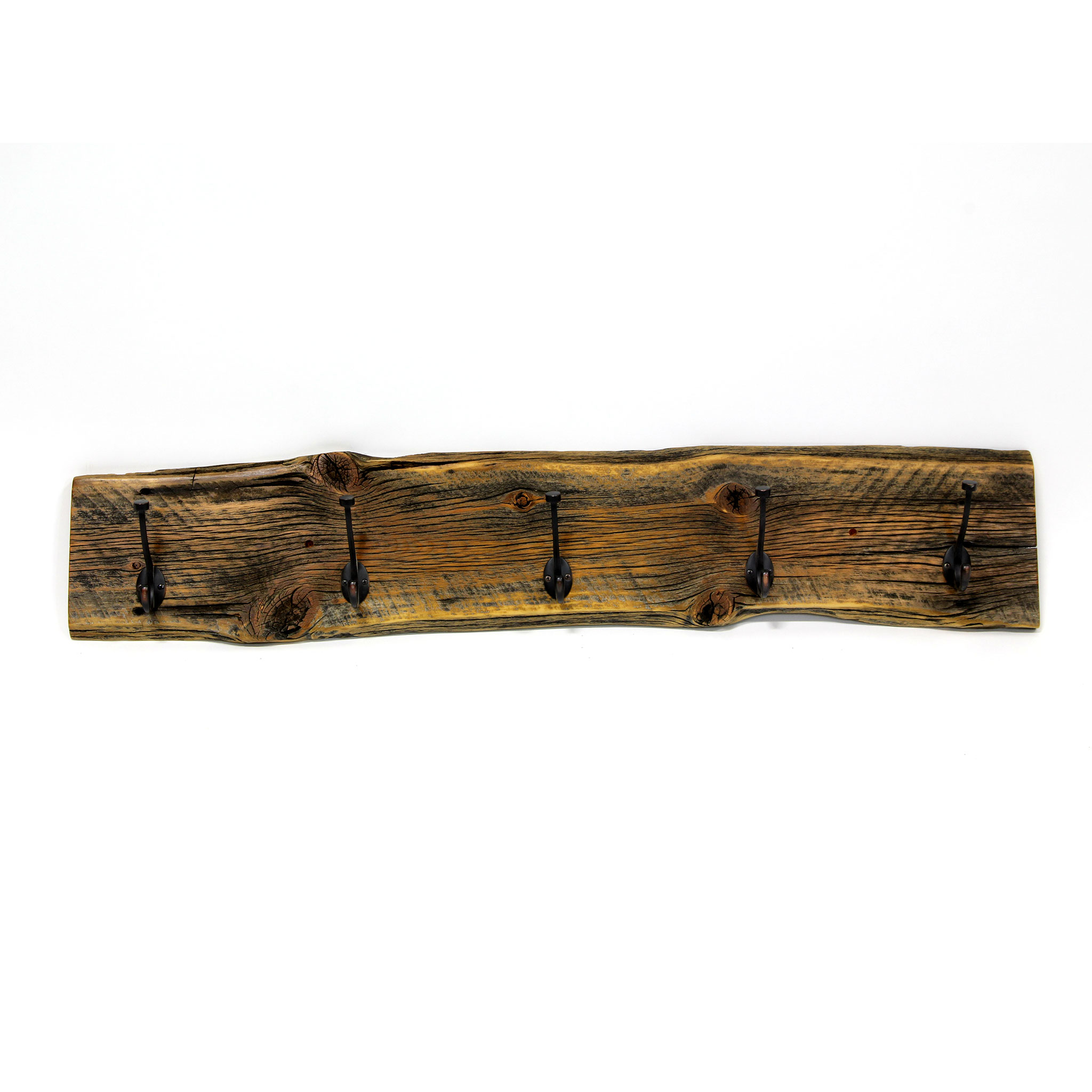 Live Edge Reclaimed Wall Mounted Coat Rack Four Corner Furniture Bozeman Mt