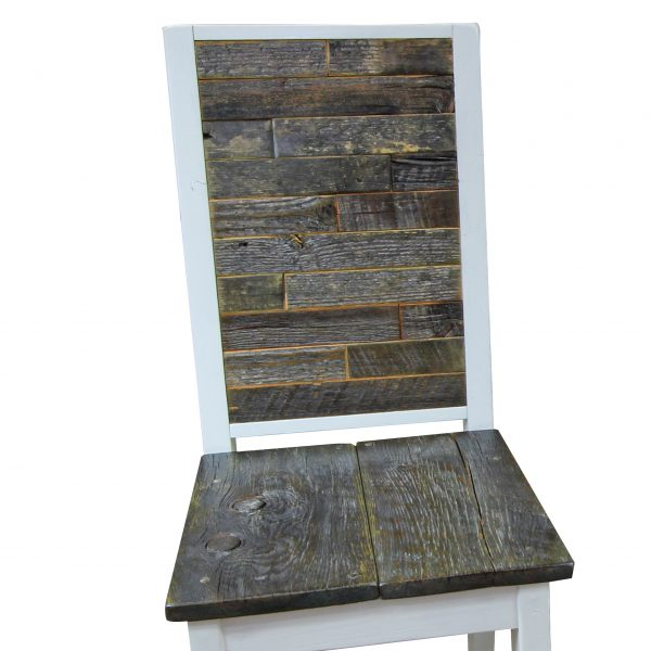 Modern-White-Chair-With-Reclaimed-Wood-Inset-1