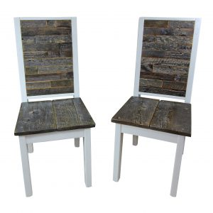 Modern-White-Chair-With-Reclaimed-Wood-Inset-2
