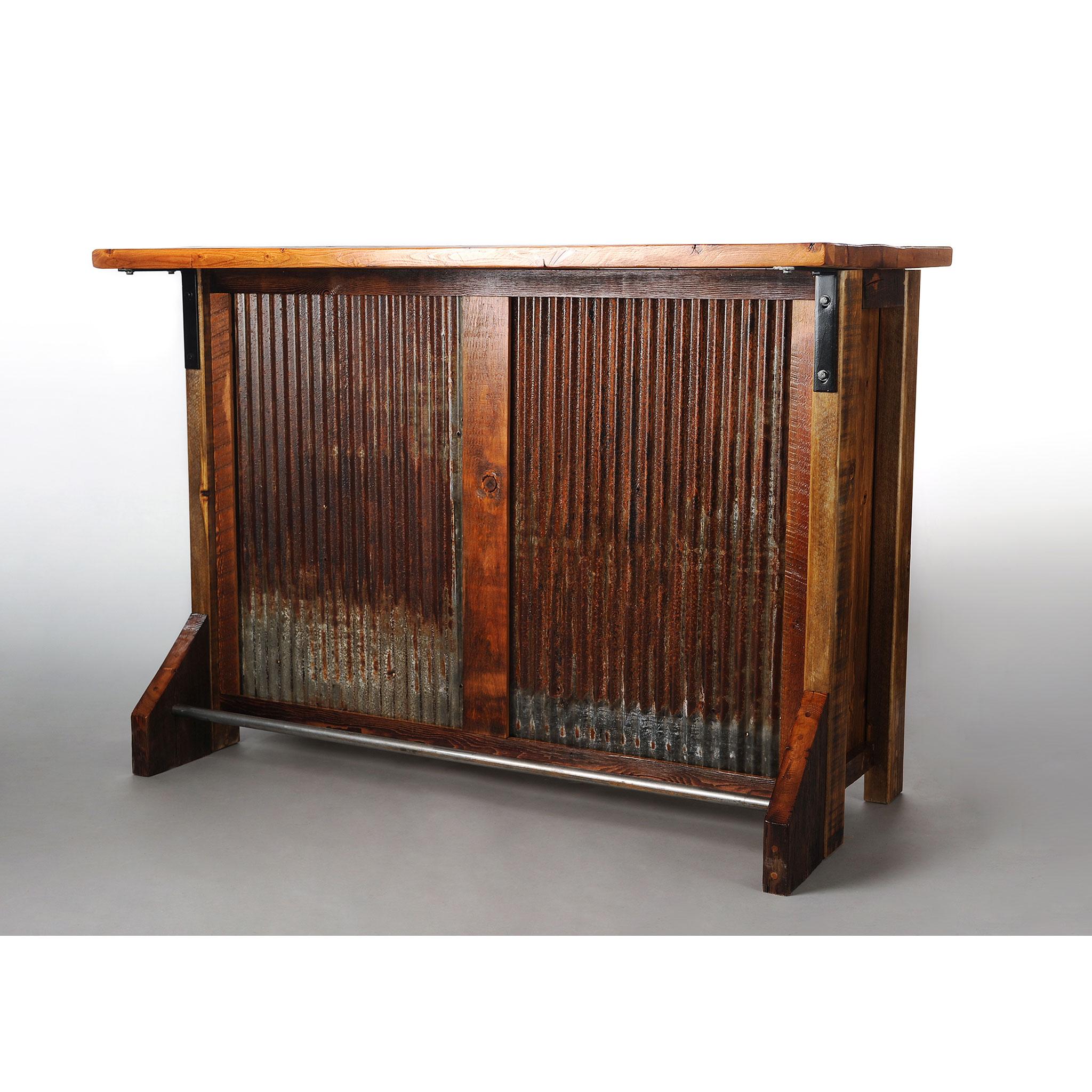 Reclaimed Barnwood Drybar 2