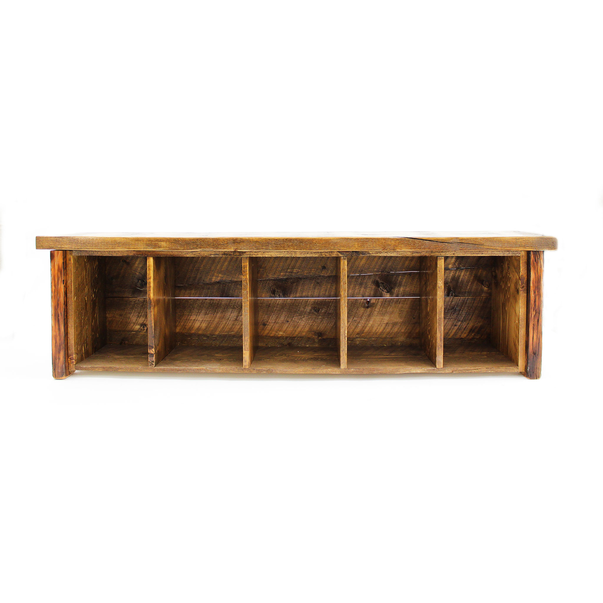 Strange Reclaimed Barnwood Storage Bench Gmtry Best Dining Table And Chair Ideas Images Gmtryco