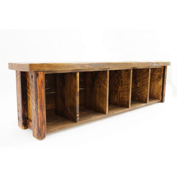Reclaimed-Barnwood-Storage-Bench-3
