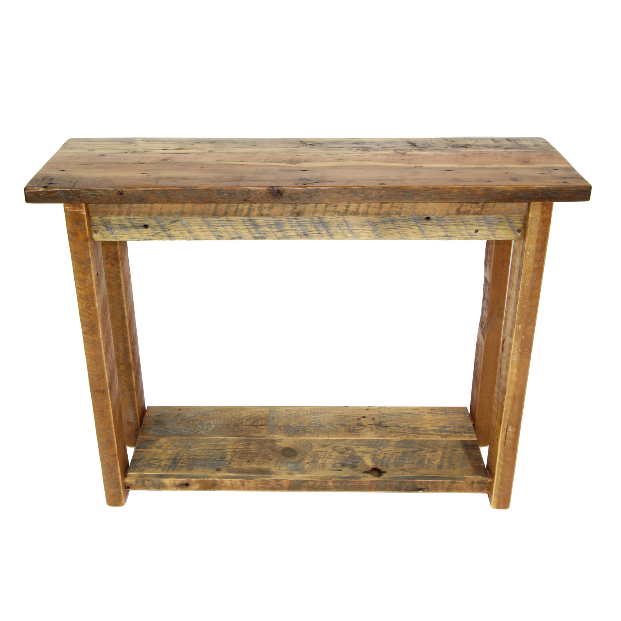 Reclaimed Sofa Table Four Corner Furniture Bozeman Mt