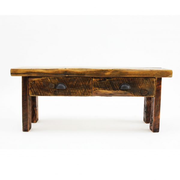 Reclaimed-Wood-Bench-With-Drawers-1