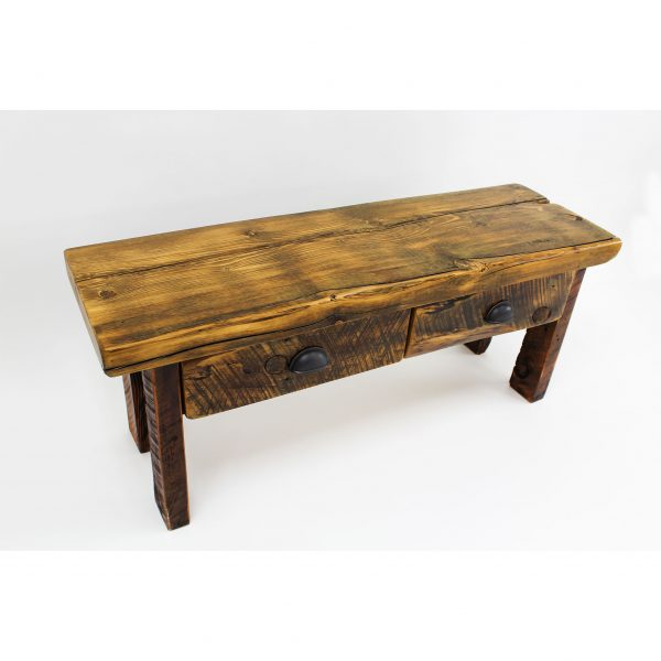 Reclaimed-Wood-Bench-With-Drawers-2