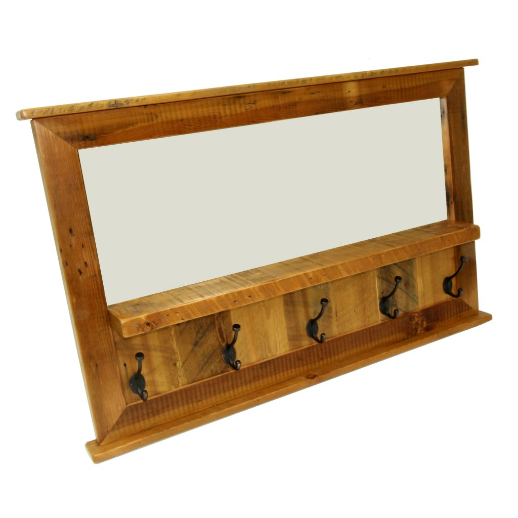 Reclaimed-Wood-Coat-Rack-With-Mirror-1