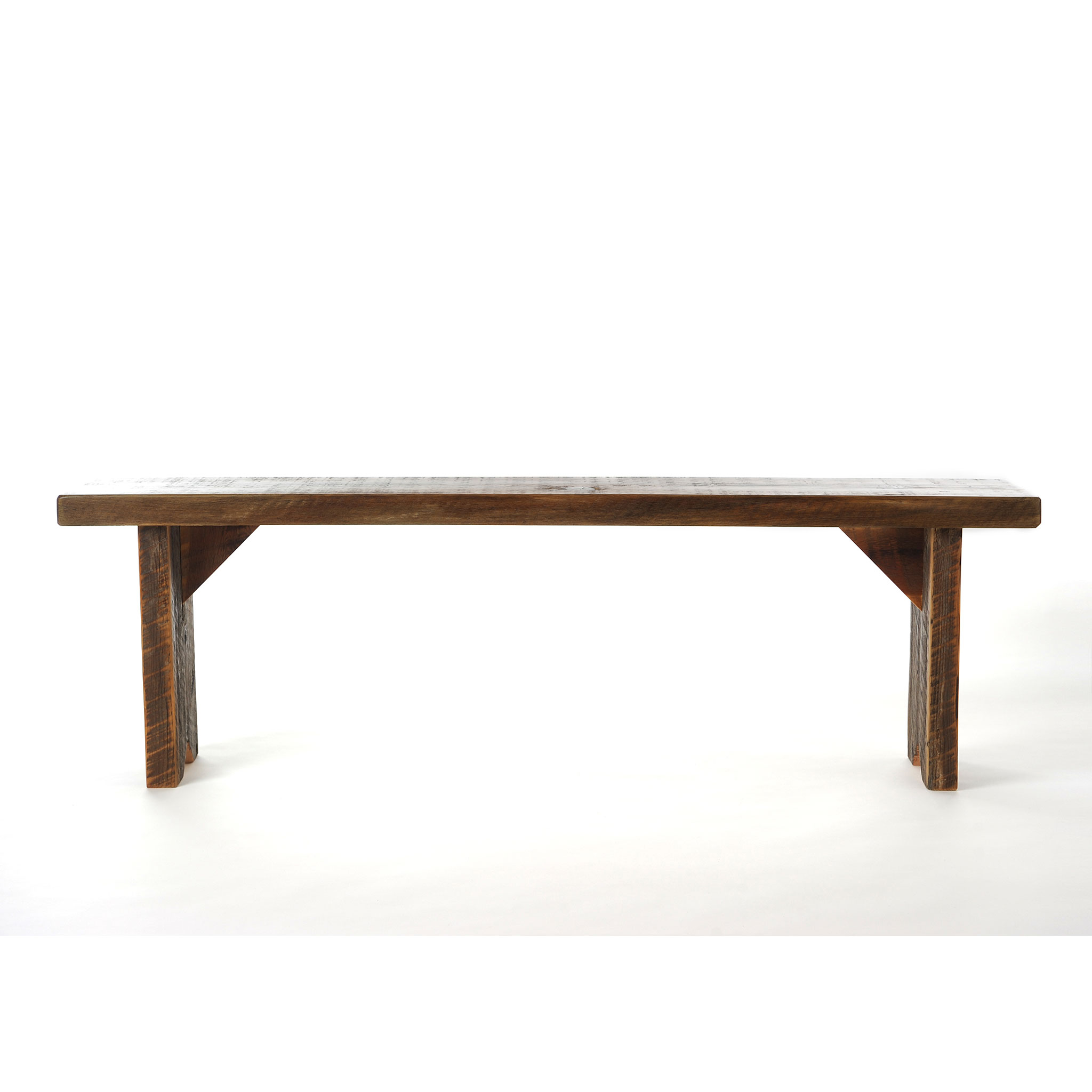 Wonderful Reclaimed Wood Dining Bench 1