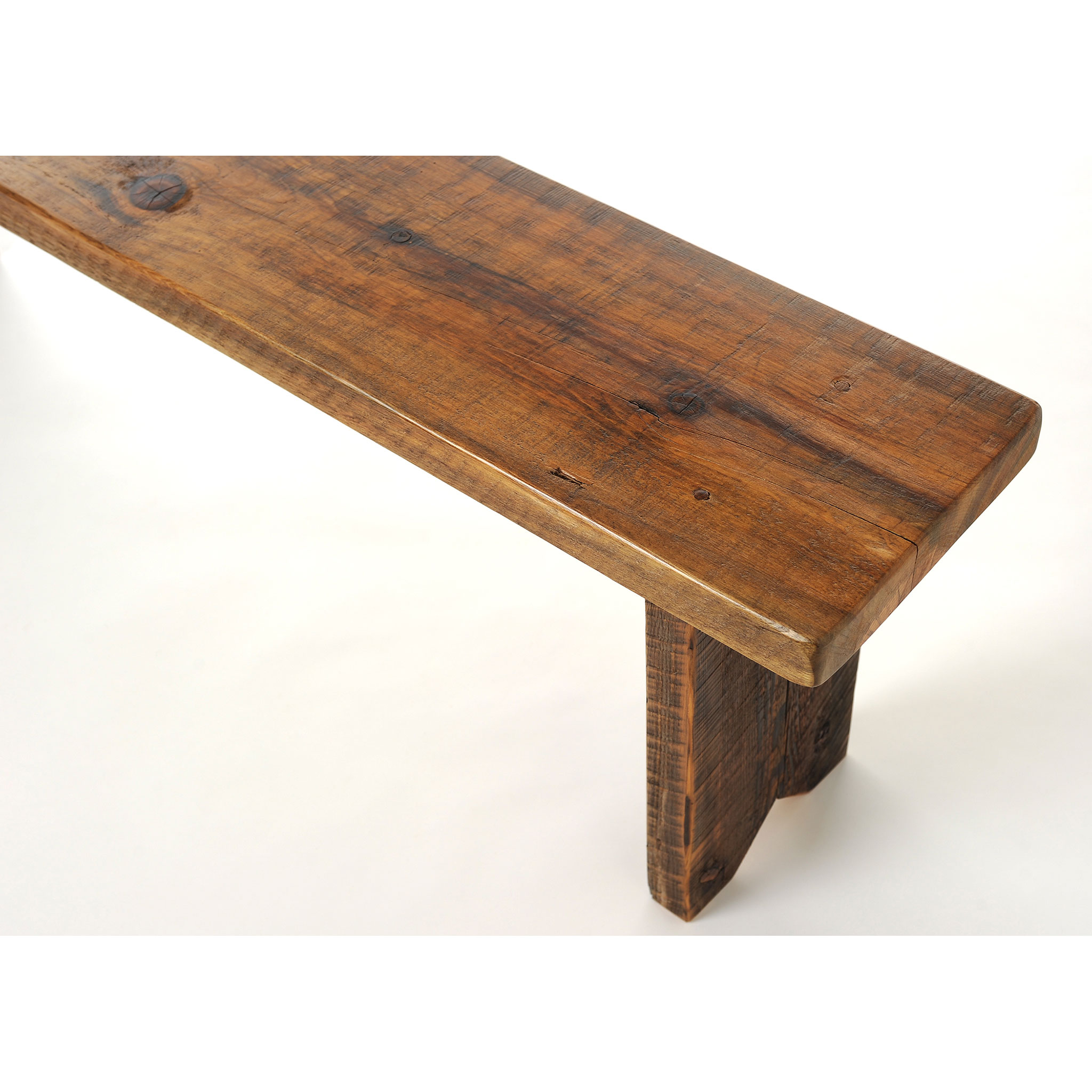 Reclaimed Wood Dining Bench Four Corner Furniture