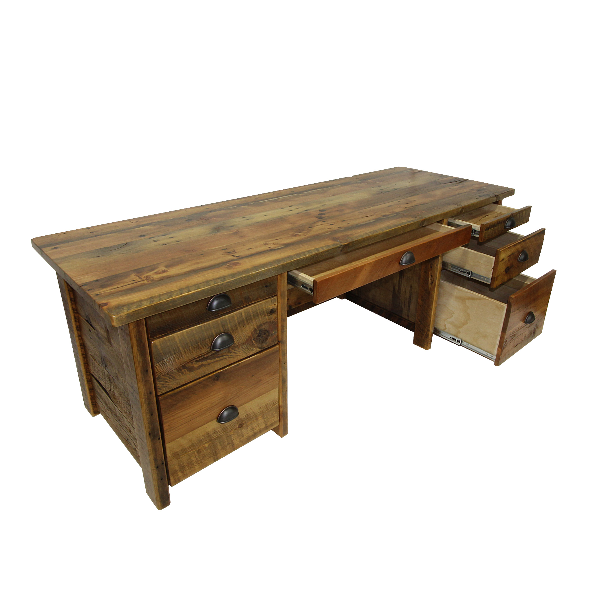 Reclaimed Wood Office Desk 1 2048