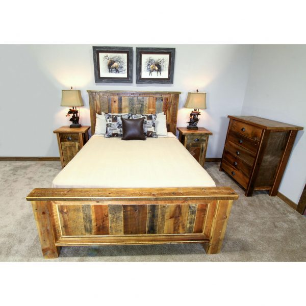 Reclaimed-Wood-Panel-Bed-1