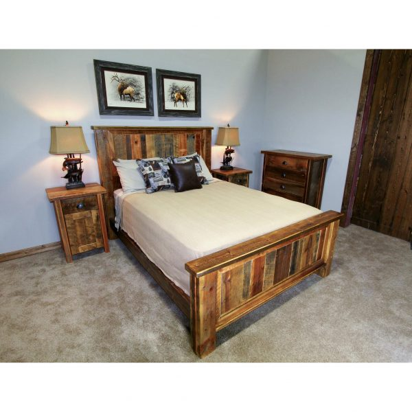 Reclaimed-Wood-Panel-Bed-2