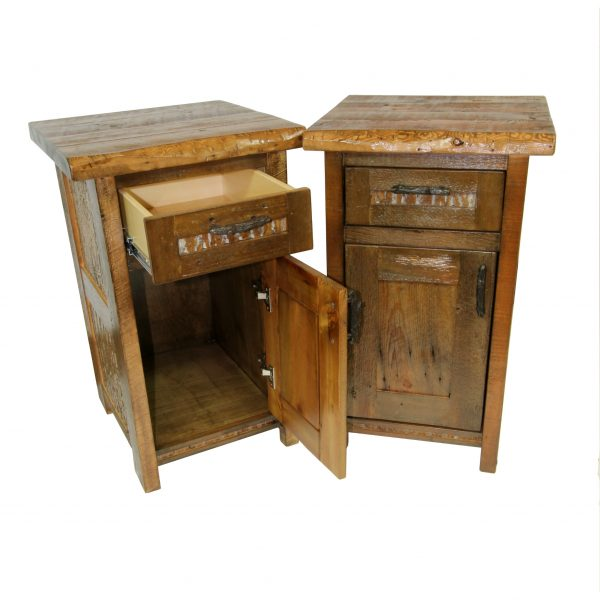 Refined-Rustic-1-Drawer-Nightstand-2