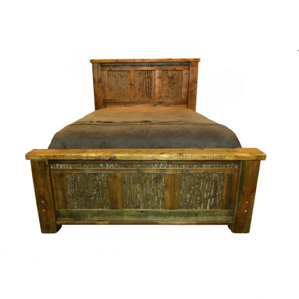 Refined-Rustic-Barnwood-Bed-1