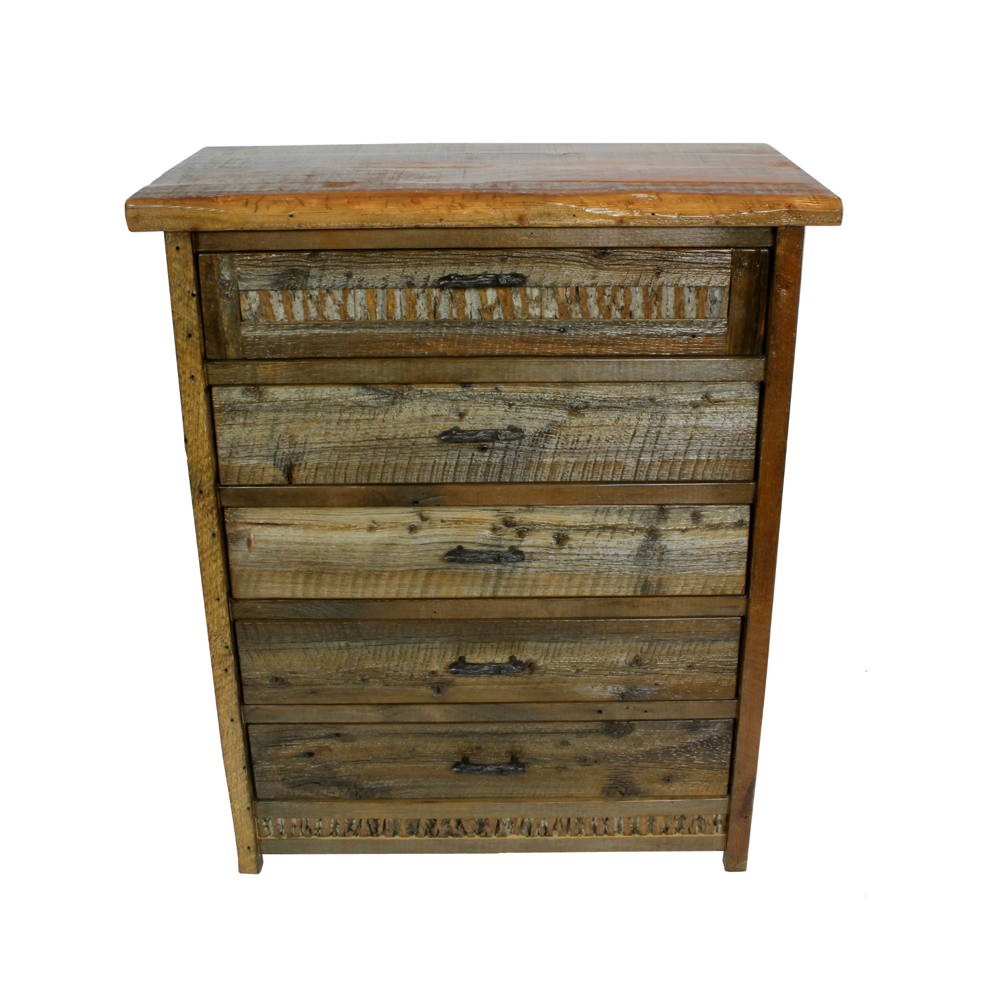 Refined Rustic Chest Of Drawers 1