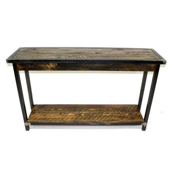 Rustic-Entryway-Table-With-Metal-Base-1