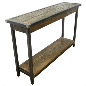 Rustic-Entryway-Table-With-Metal-Base-4