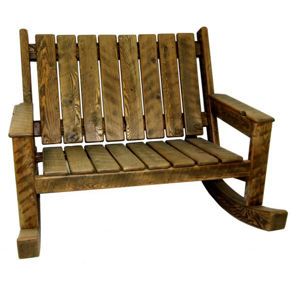 Rustic-Rocking-Adirondack-Loveseat-1