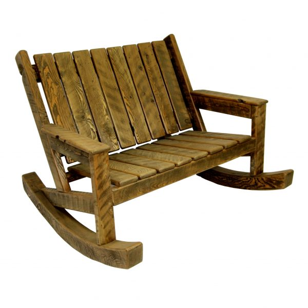 Rustic-Rocking-Adirondack-Loveseat-2
