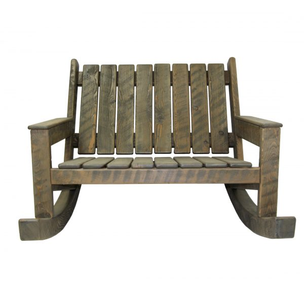 Rustic-Rocking-Adirondack-Loveseat-3