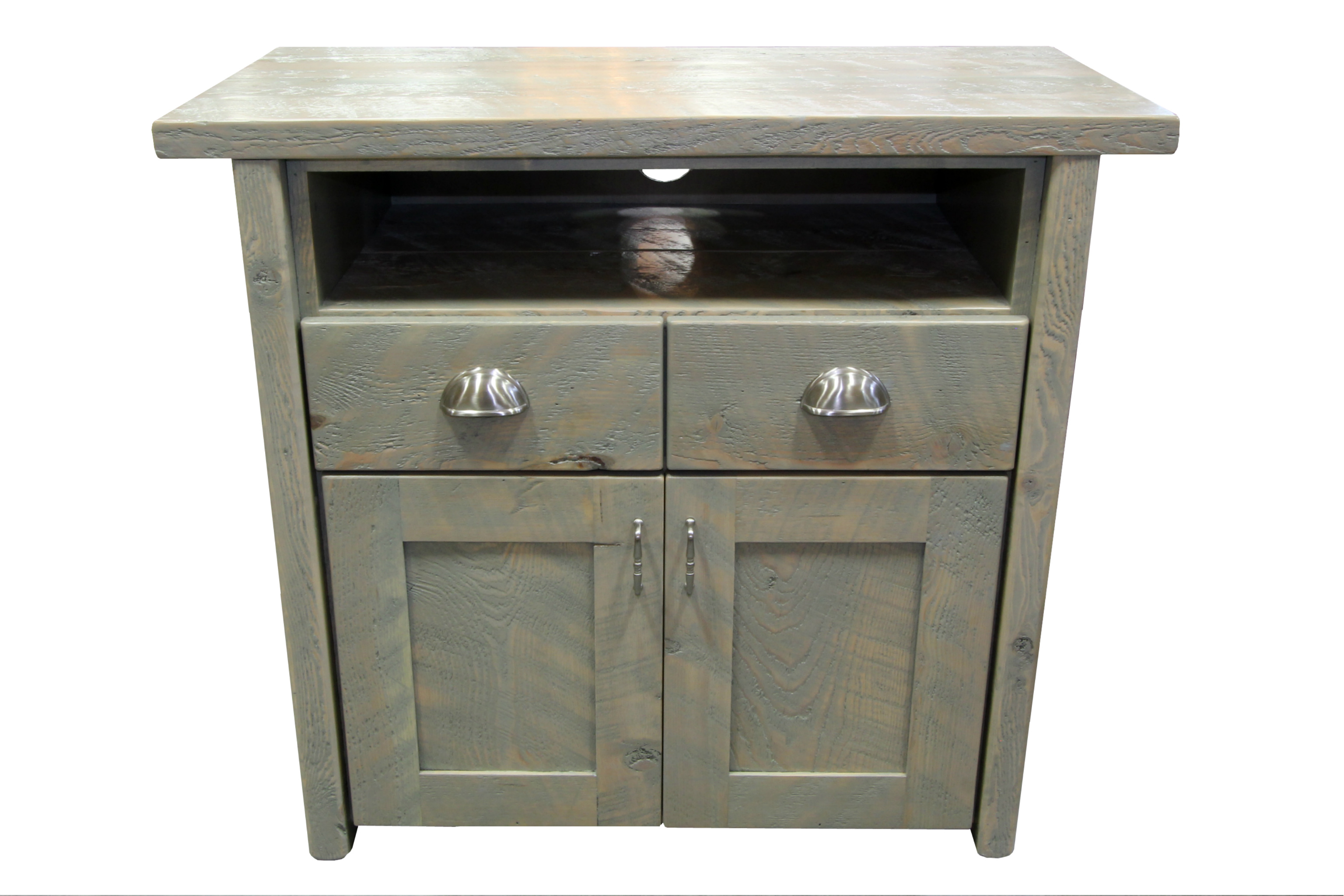 Rustic Tv Console With Drawers 3