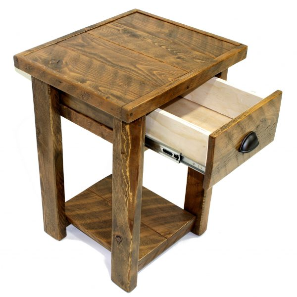 Rustic-Wood-1-Drawer-Nightstand-2