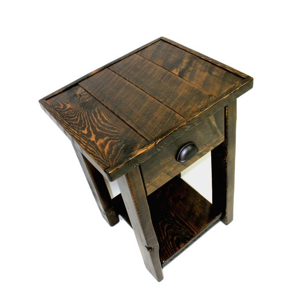 Rustic-Wood-1-Drawer-Nightstand-3
