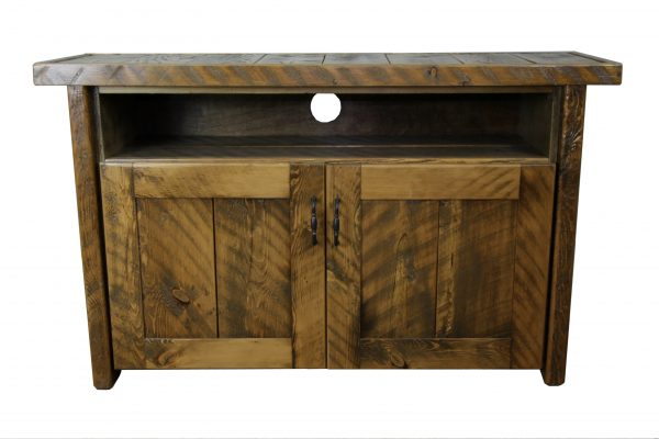 Rustic-Wood-Cabinet-TV-Console-1