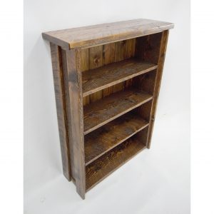 Rustic-Wooden-Bookshelf-With-Adjustable-Shelves-1