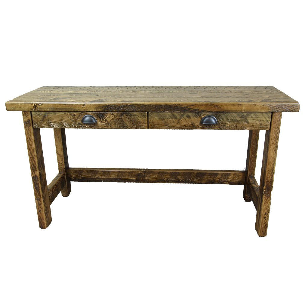 Rustic-Writing-Desk-With-Drawer-1