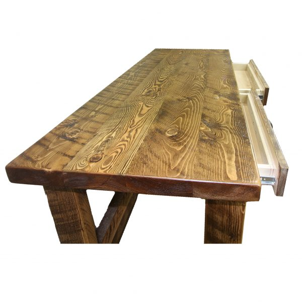 Rustic-Writing-Desk-With-Drawer-2