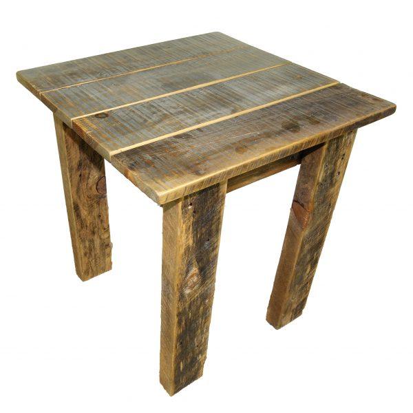 Simple-Reclaimed-Barnwood-End-Table-1