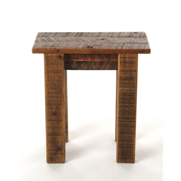 Simple-Reclaimed-Barnwood-Small-End-Table-1