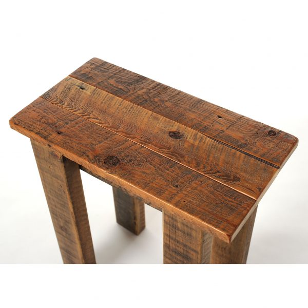 Simple-Reclaimed-Barnwood-Small-End-Table-2