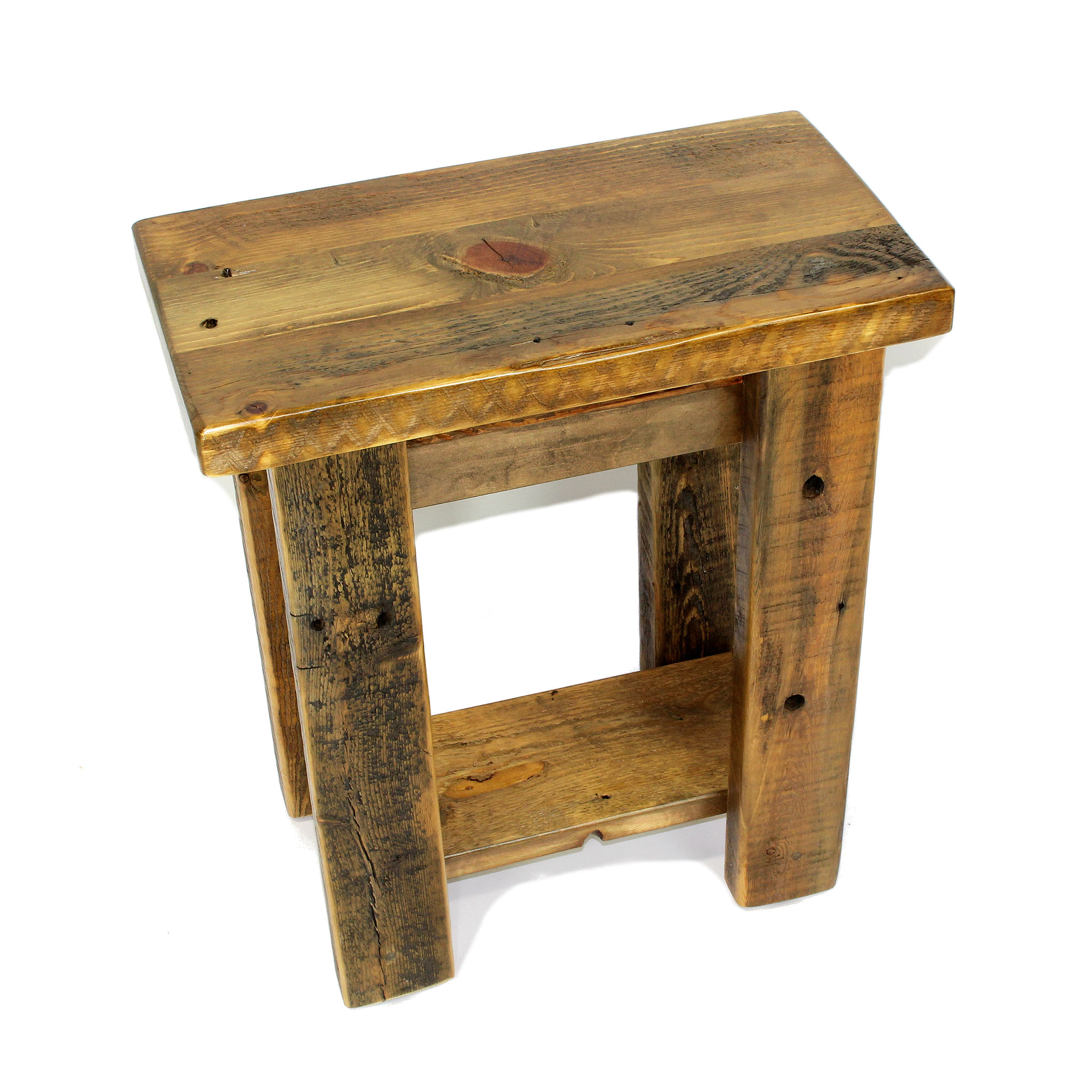 Super Small Reclaimed Wood End Table Squirreltailoven Fun Painted Chair Ideas Images Squirreltailovenorg