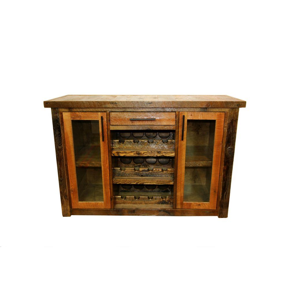 Yellowstone-Barnwood-Wine-Cabinet-1