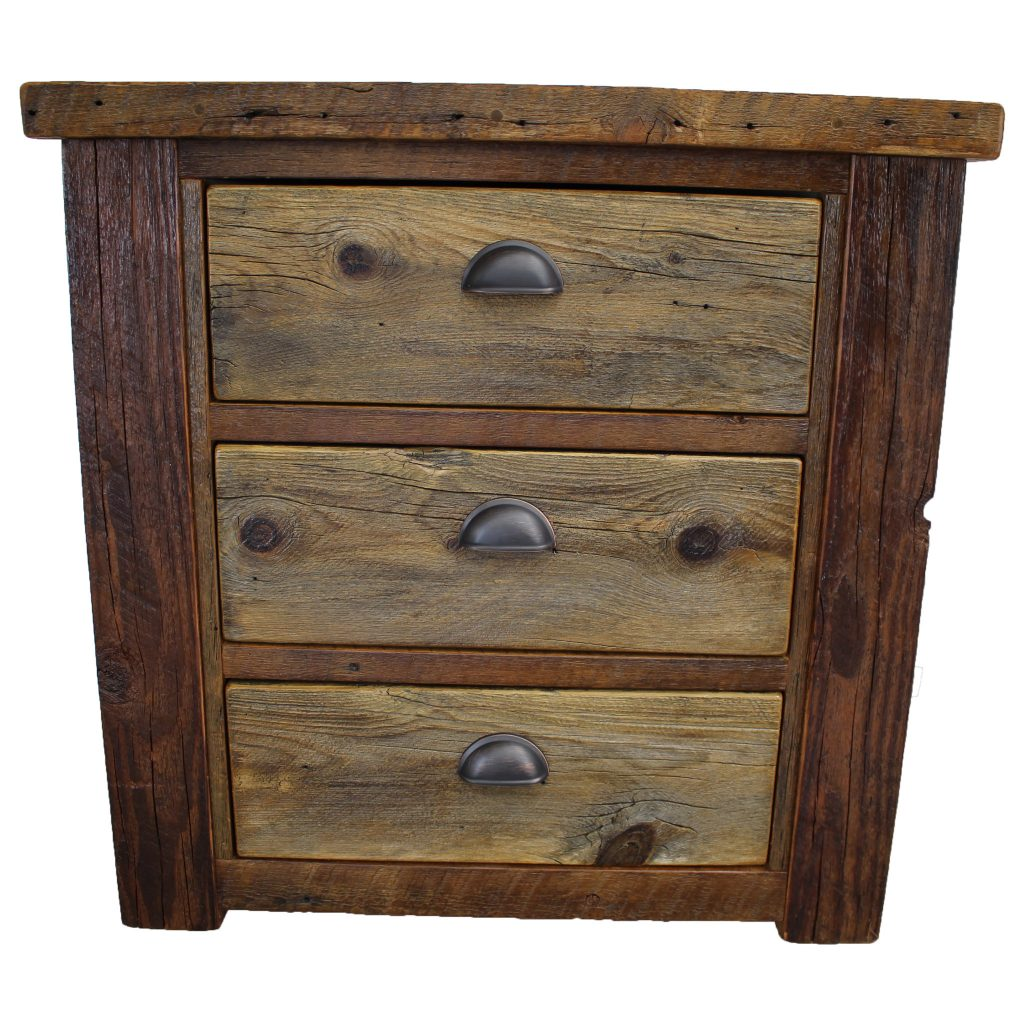 Rustic-Wood-Lodge-3-Drawer-Nightstand-3