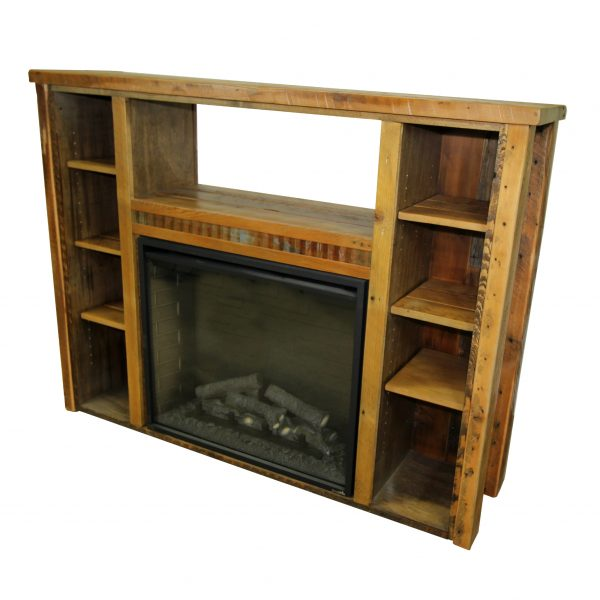 Reclaimed-Wood-Fireplace-With-Shelves-1