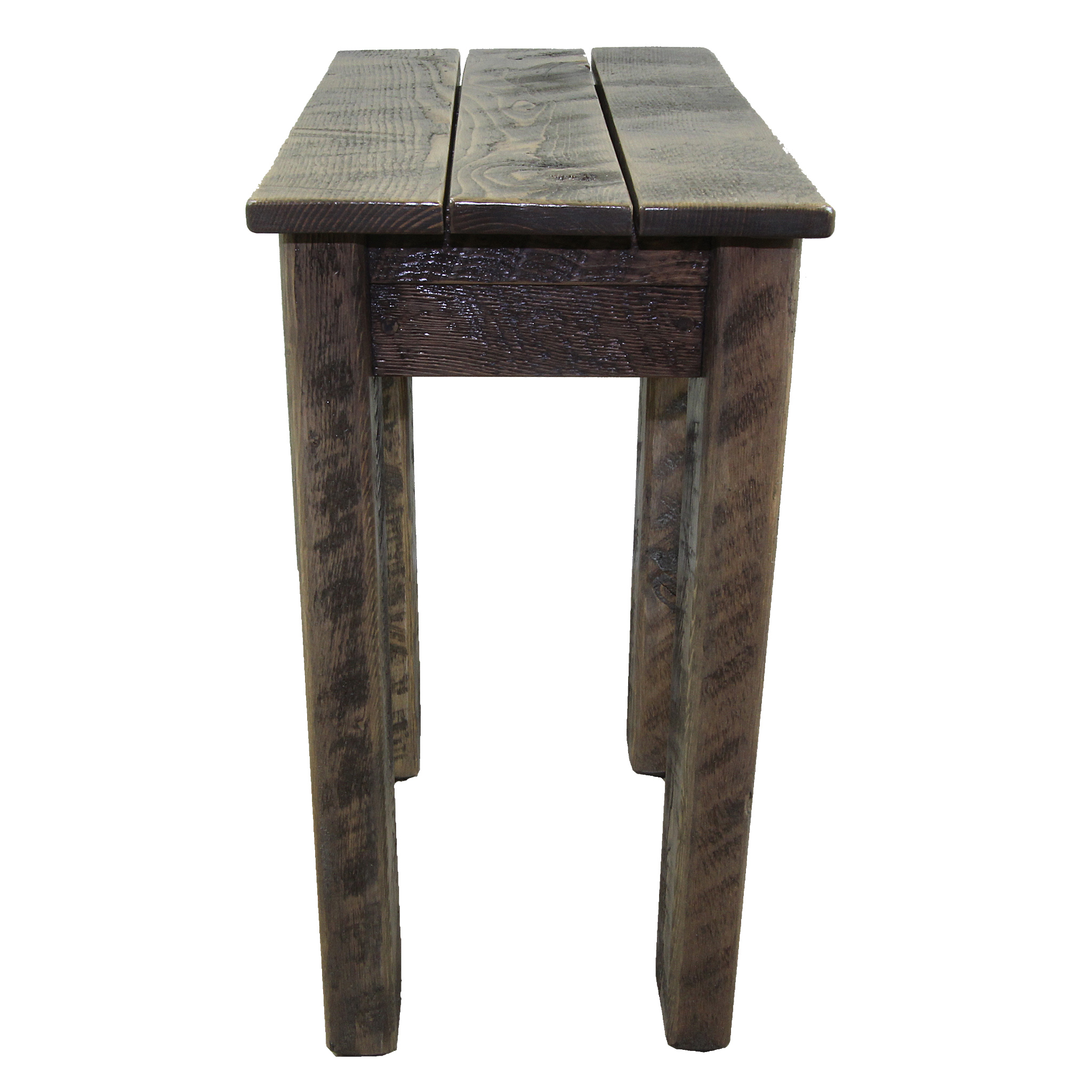 Simple Small Rustic Side Table Four Corner Furniture Bozeman Mt